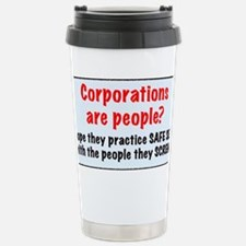 corporate stainless water bottl Travel Mug