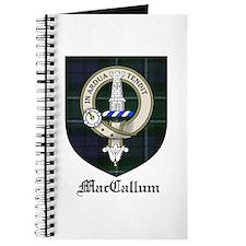 MacCallum Clan Crest Tartan Journal