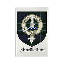 MacCallum Clan Crest Tartan Rectangle Magnet (10 p