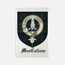 MacCallum Clan Crest Tartan Rectangle Magnet (10 p