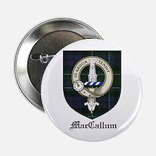 "MacCallum Clan Crest Tartan 2.25"" Button (10 pack)"