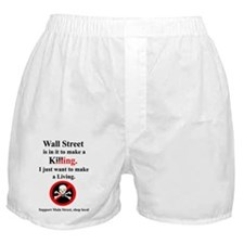 wall_street_local_white copy Boxer Shorts