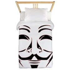 Occupy_NoBorderfor_LightShirt Twin Duvet