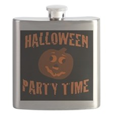 Halloween Party Time Flask