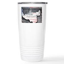 Route 66 Flag Poster Travel Mug