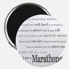 I Am a Marathoner Magnet