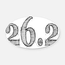 262 Oval Car Magnet