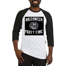 Halloween Party Time Baseball Jersey
