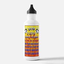 LargePoster2 God-I Lov Water Bottle