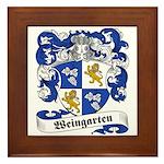 Weingarten Coat of Arms Framed Tile