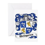 Weingarten Coat of Arms Greeting Cards (Package of