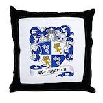 Weingarten Coat of Arms Throw Pillow
