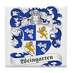Weingarten Coat of Arms Tile Coaster