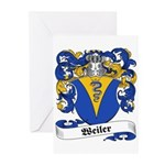 Weiler Coat of Arms Greeting Cards (Pk of 10)