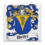 Weiler Coat of Arms Tile Coaster