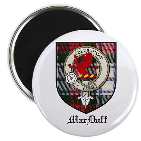 """MacDuff Clan Crest Tartan 2.25"""" Magnet (10 pack)"""