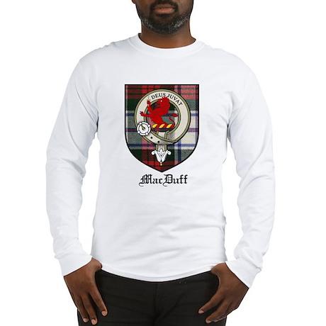 MacDuff Clan Crest Tartan Long Sleeve T-Shirt