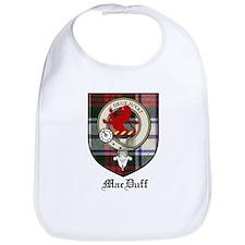 MacDuff Clan Crest Tartan Bib