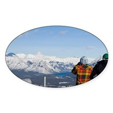 Banff. View of the Bow Valley from  Decal
