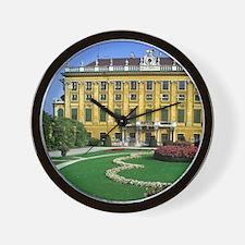 Austria, Vienna. Schonbrunn Palace Wall Clock