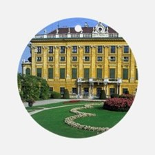 Austria, Vienna. Schonbrunn Palace Round Ornament