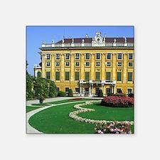 """Austria, Vienna. Schonbrunn Square Sticker 3"""" x 3"""""""