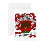Weidemann Coat of Arms Greeting Cards (Package of