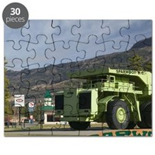World's Biggest Truck. Carries 350 Tons at  Puzzle