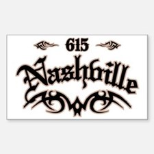 Nashville 615 Decal