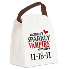 Vampire Awaits B Canvas Lunch Bag