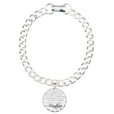 I Am a Marathoner - Scri Charm Bracelet, One Charm