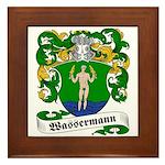 Wassermann Coat of Arms Framed Tile