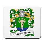 Wassermann Coat of Arms Mousepad