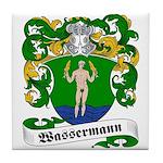 Wassermann Coat of Arms Tile Coaster