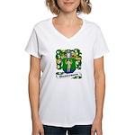Wassermann Coat of Arms Women's V-Neck T-Shirt