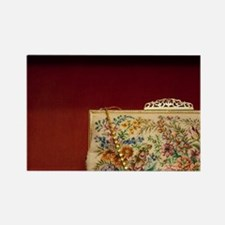 Famous detailed petit point needl Rectangle Magnet