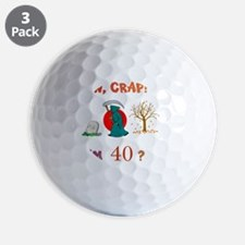 AWCRAP40WXXX Golf Ball
