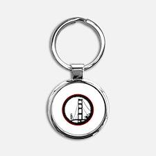 Occupy San Fransisco - Black Round Keychain