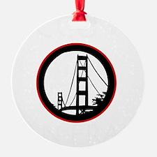 Occupy San Fransisco - Black Ornament