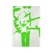 electricgreen Rectangle Magnet
