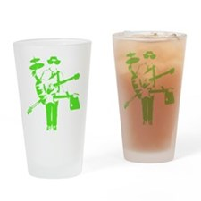 electricgreen Drinking Glass