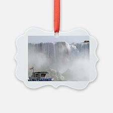 Canada, Ontario, Niagara Falls. M Ornament