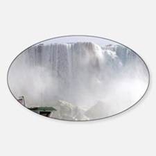 Canada, Ontario, Niagara Falls. Mai Sticker (Oval)