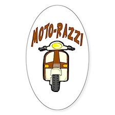 Moto-Razzi Oval Decal