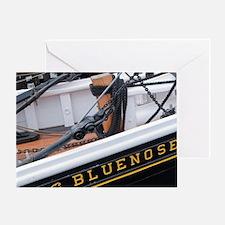Nova Scotia, Canada. Bluenose II in  Greeting Card