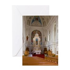 Cheticamp. St. Peter's Churchton Isl Greeting Card