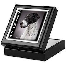 Pointer Black Keepsake Box