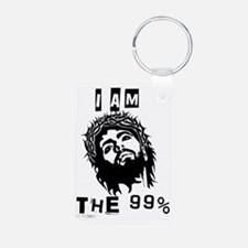 Jesus Is The 99% Keychains