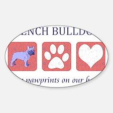 FIN-french-bulldog-pawprints-CROP Decal