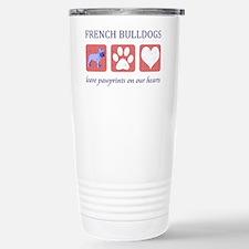 FIN-french-bulldog-pawprints-CR Travel Mug